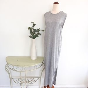 Acne Studios Dress Size XS Tank Grey Maxi